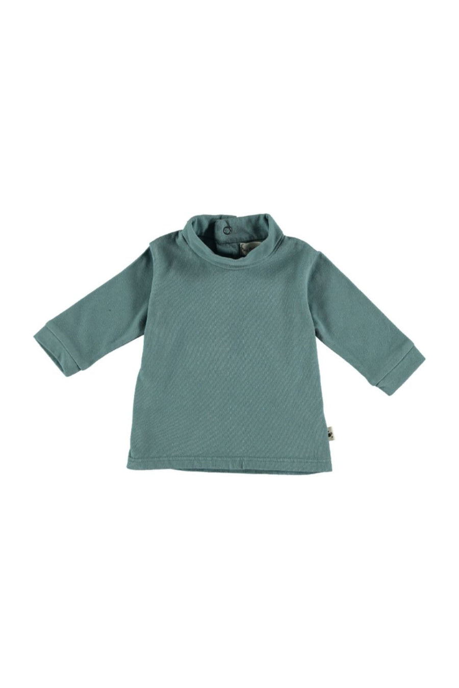 ORGANIC BABY ROLL NECK BASIC