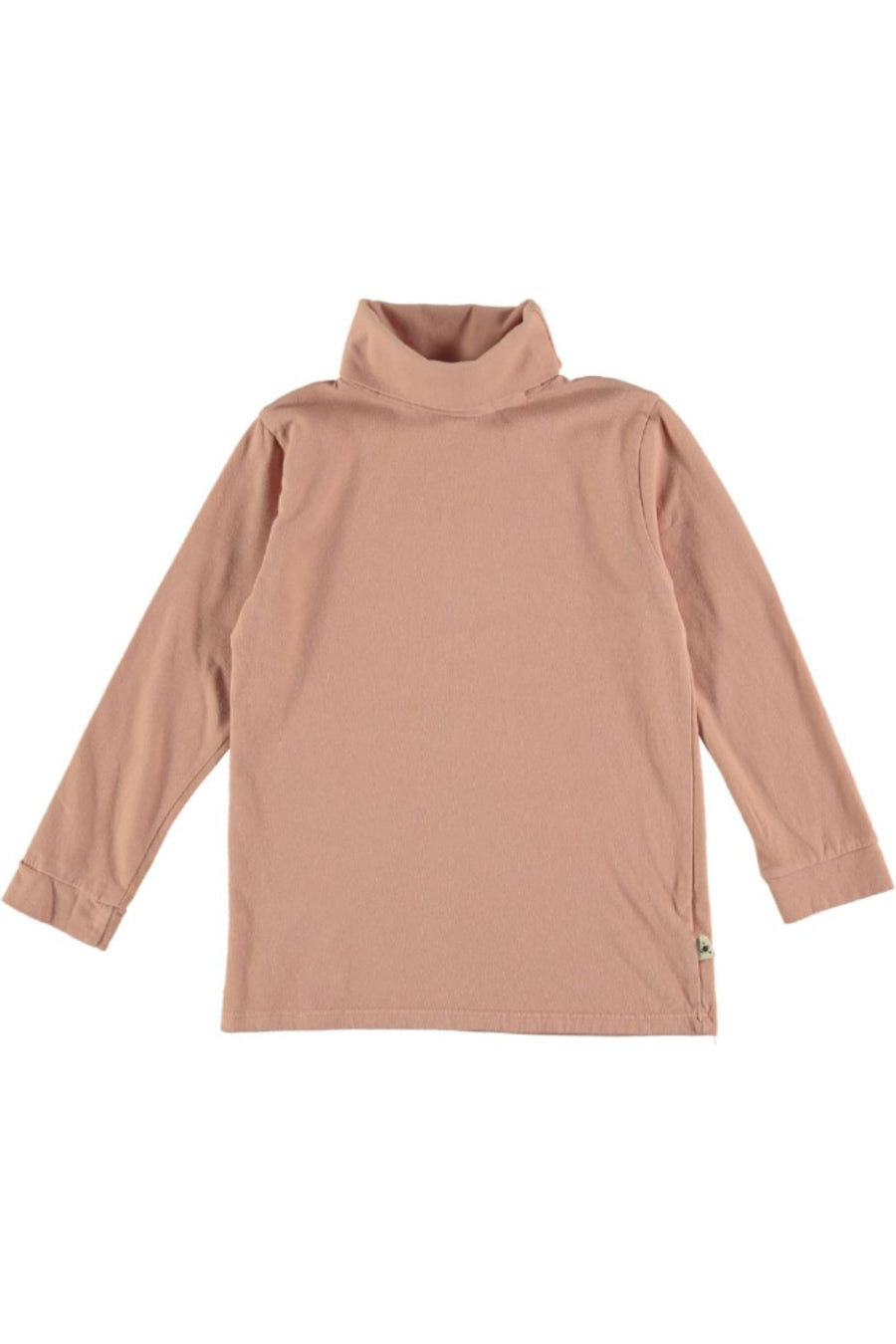 ORGANIC ROLL NECK KIDS T-SHIRT BASIC