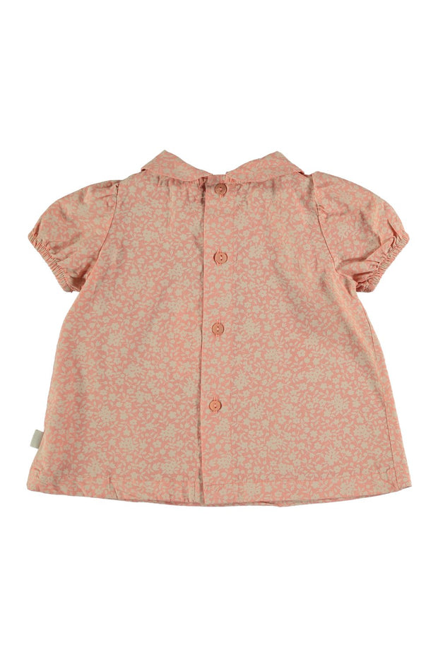 pink floral baby dress