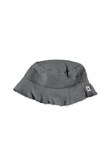 grey kid hat