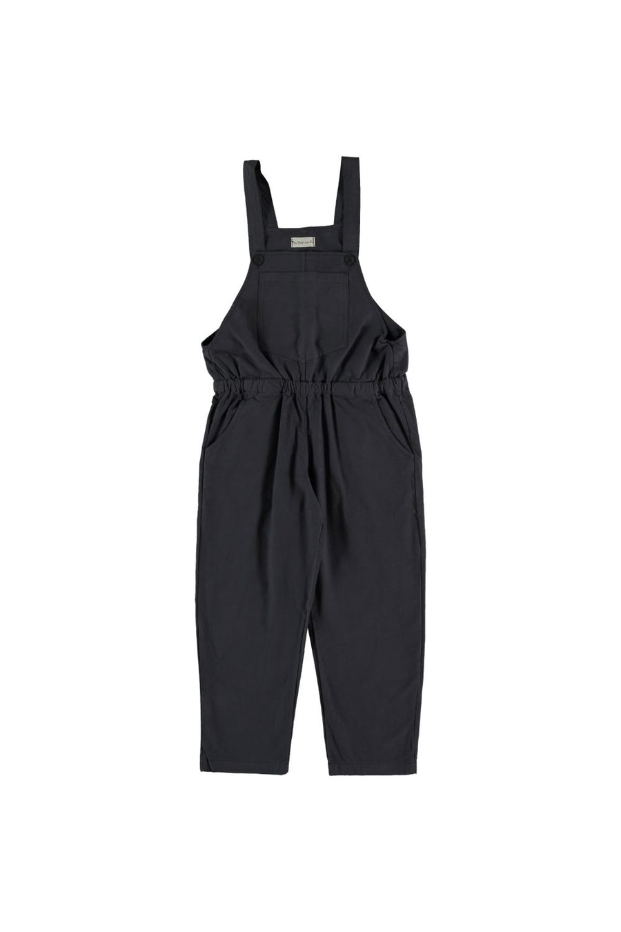 SOLID COTTON OVERALLS