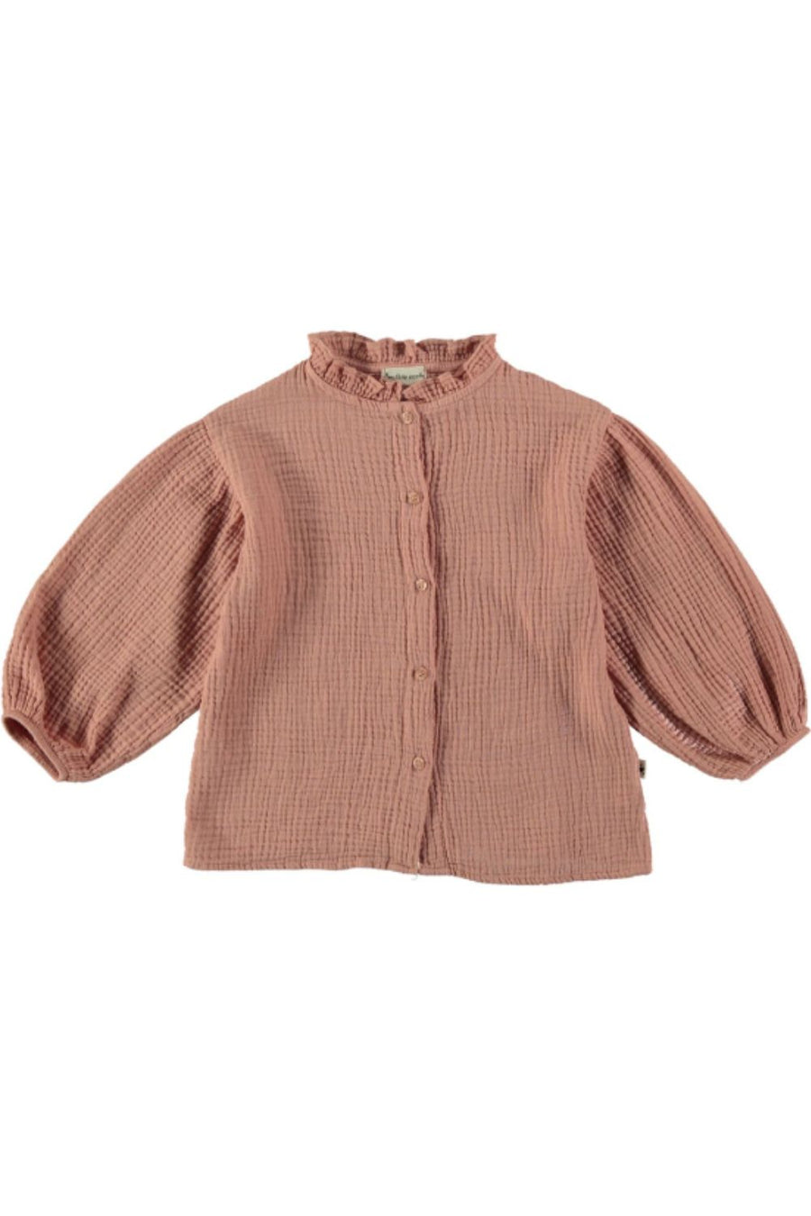 ORGANIC GIRL BLOUSE BUBBLE