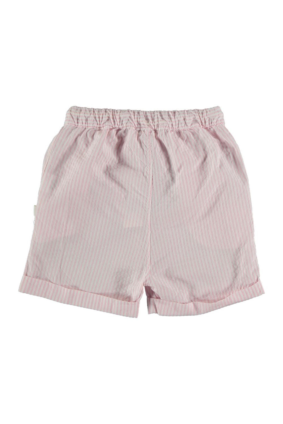 STRIPED SEERSUCKER BERMUDA SHORTS