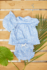 ORGANIC BABY FLORAL DRESS