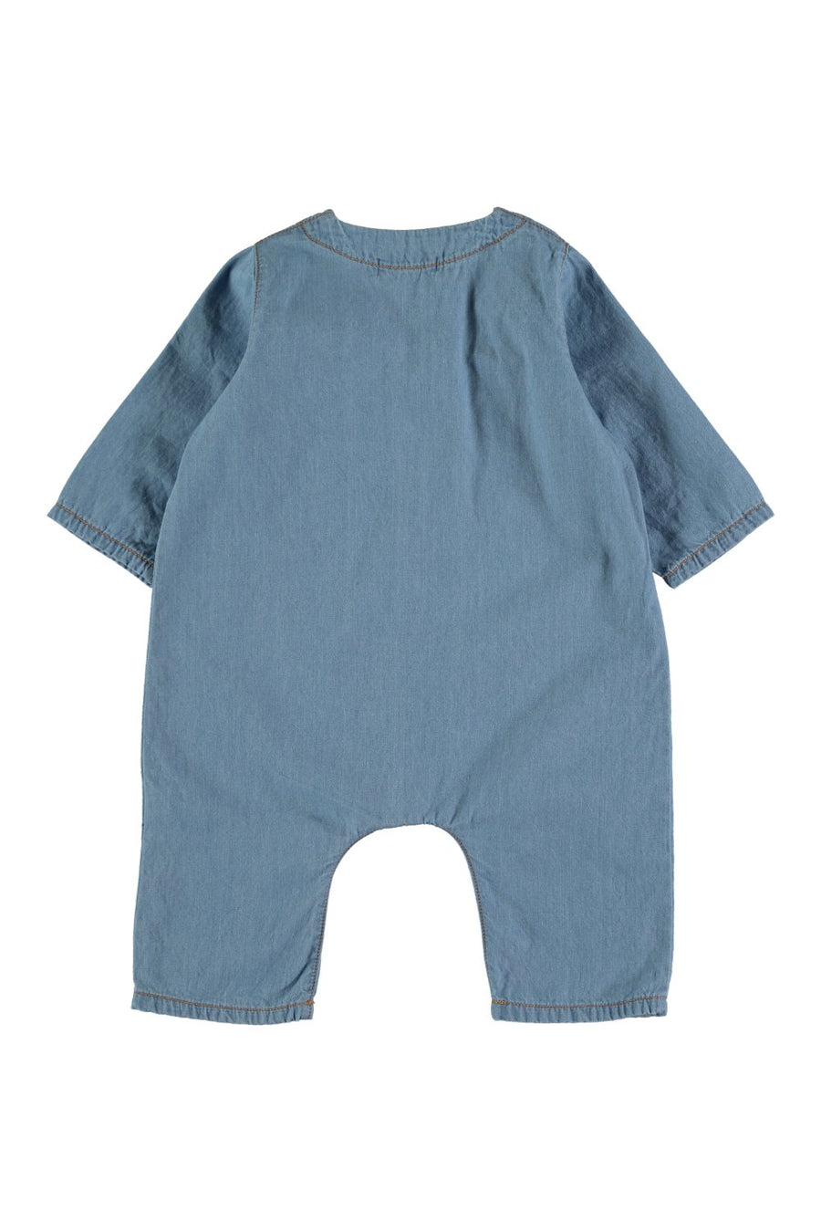 BABY CHAMBRAY JUMPSUIT