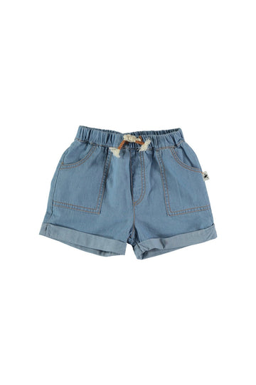 baby boy chambray shorts