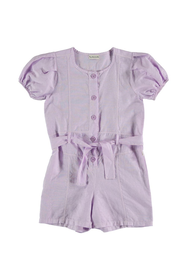 mauve toddler girl romper