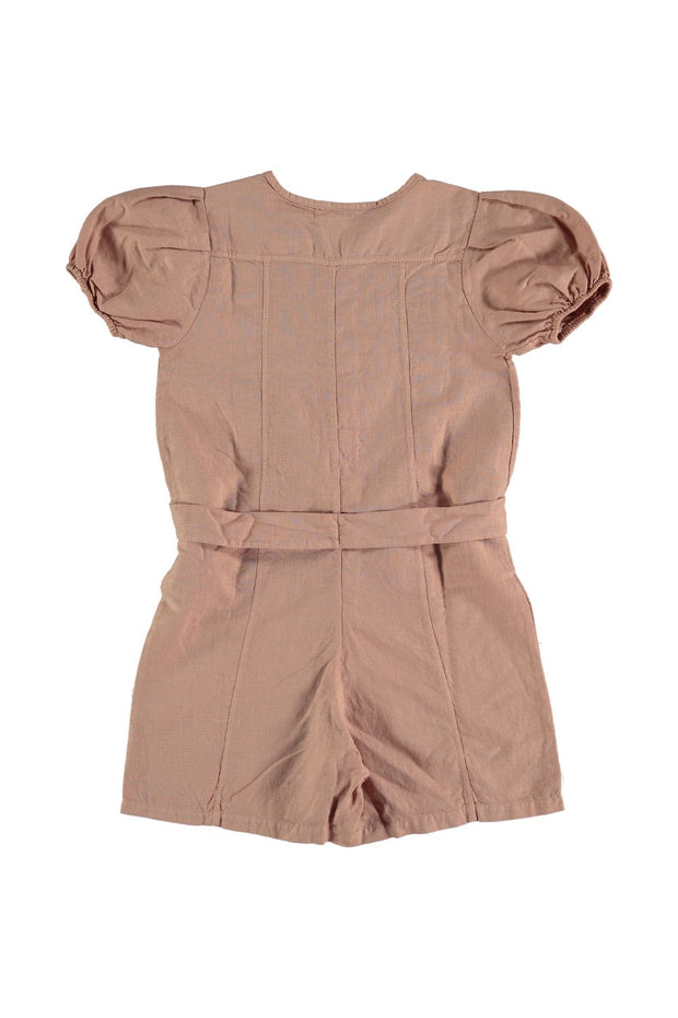 terra cotta girls romper