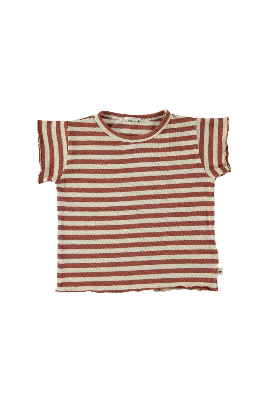 striped baby shirt