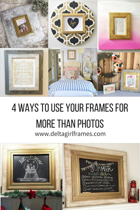 4 Ways to uses your frames for more than photos