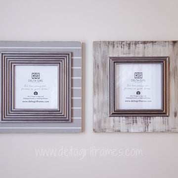 2-Piece Graywash & Gunmetal - Sophisticated Set of Two