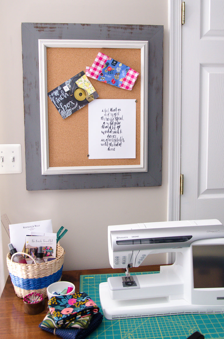 Westchester Gray Corkboard Set