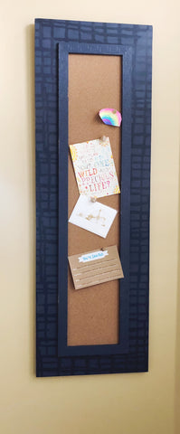 *NEW* Slim Corkboard in Blue Graph