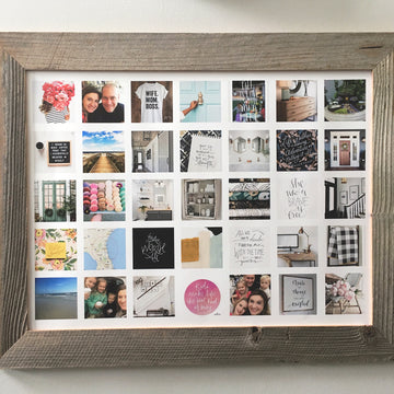 Reclaimed Slim Barn wood Frame