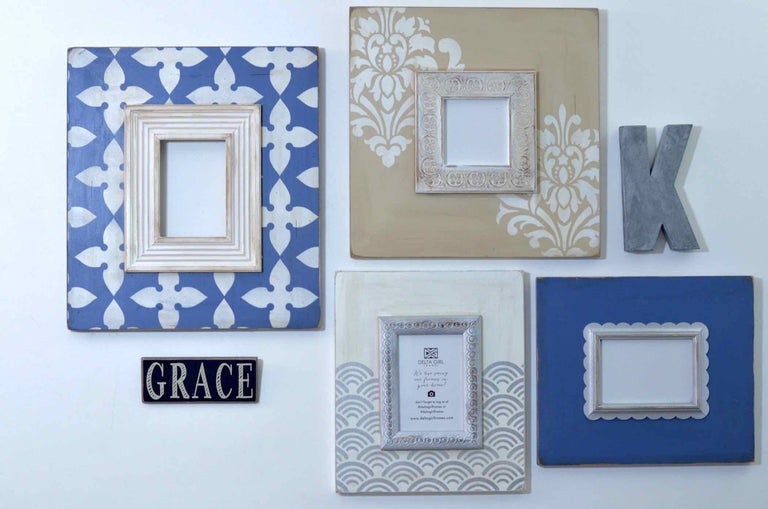 4 - Piece Blue French Neutral Collection