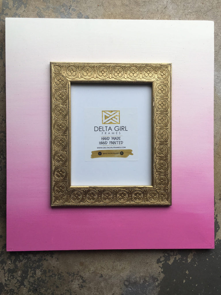 Sassy Pink Ombre Frame