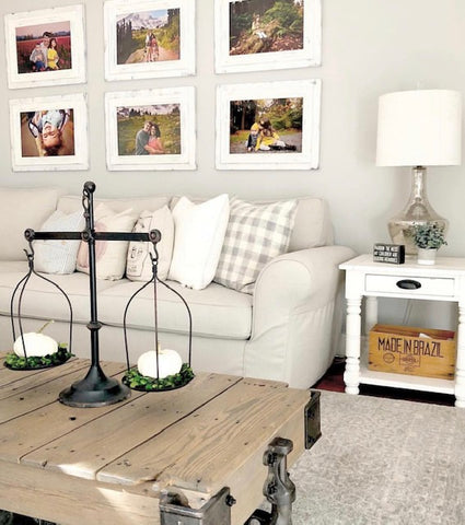 6 - Piece Easy Classic White Gallery Wall