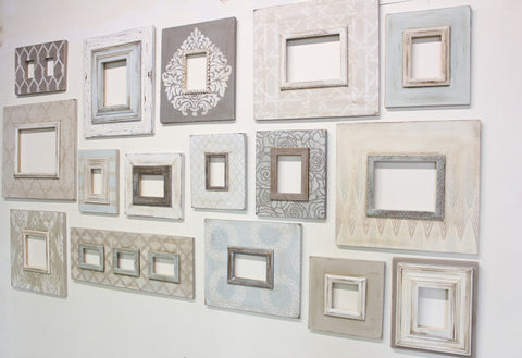 Cottage Chic Gallery Wall (16-Piece)