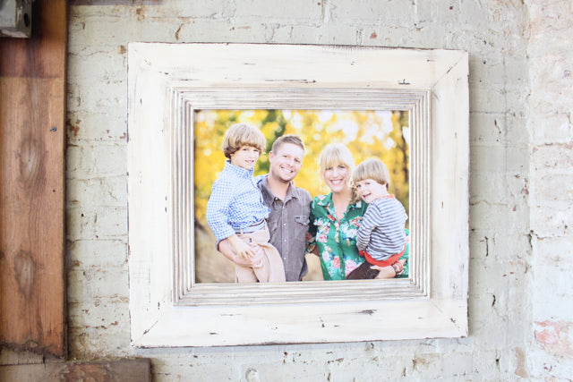 Whitewash Portrait Frame