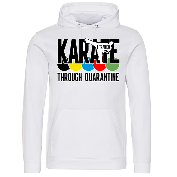 Karate through quarantine Hoodie