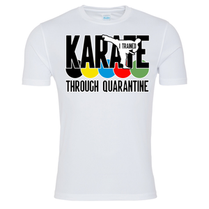 Karate through quarantine T-shirt