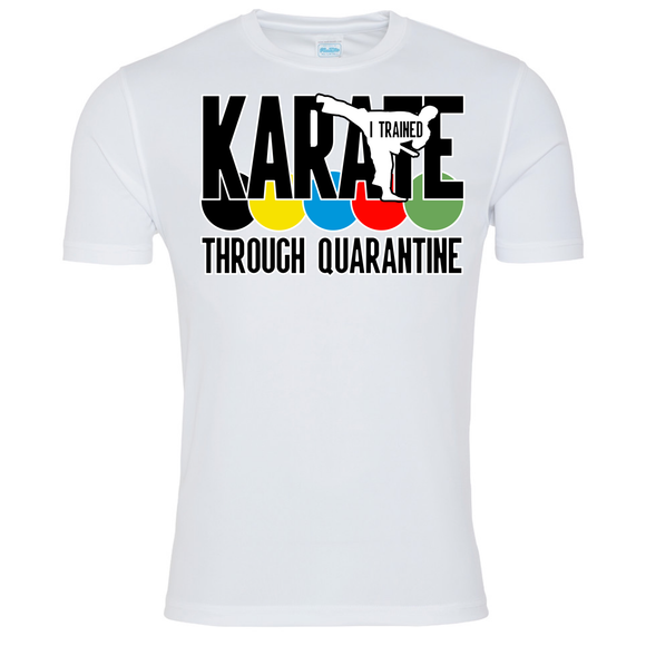 Karate through quarantine Senjokai T-shirt