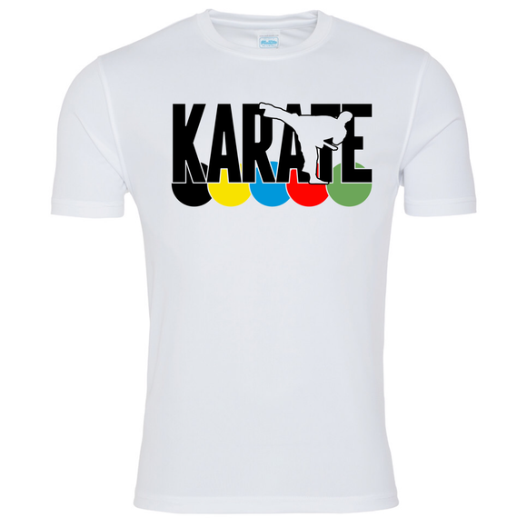 Karate WKF Colours T-shirt