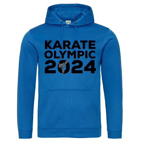 Karate Olympic 2024 Hoodie (Blue-Black)