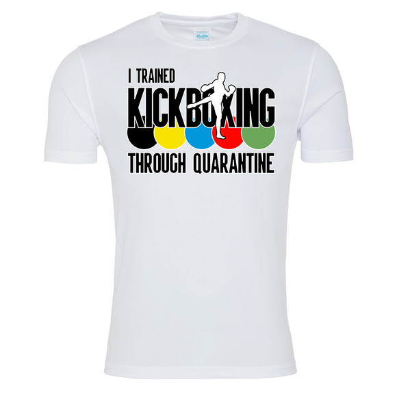 Kickboxing through quarantine T-shirt