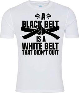 A Black Belt Is A White Belt Karate T-shirt