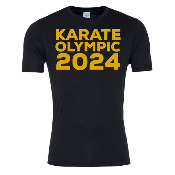 Karate Olympic 2024 (Black-Gold)