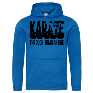 Karate through quarantine Senjokai Blue Hoodie