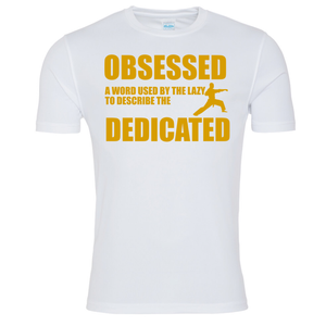 Obsessed Gold Karate T-shirt