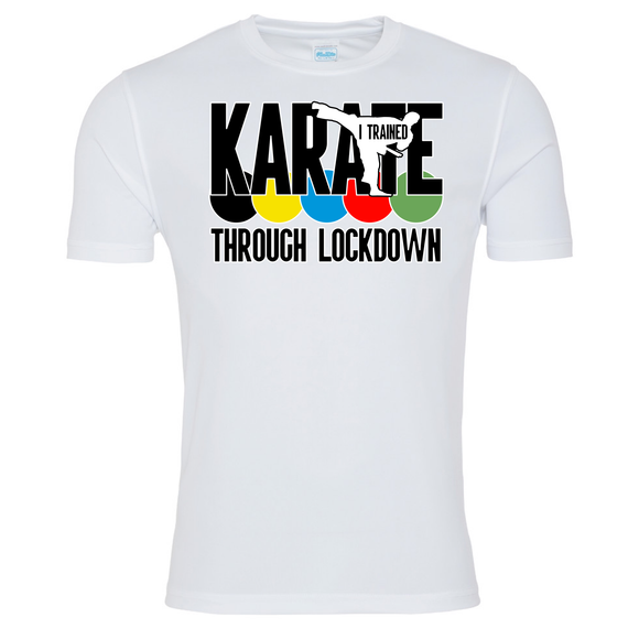 Karate Through Lockdown T-shirt