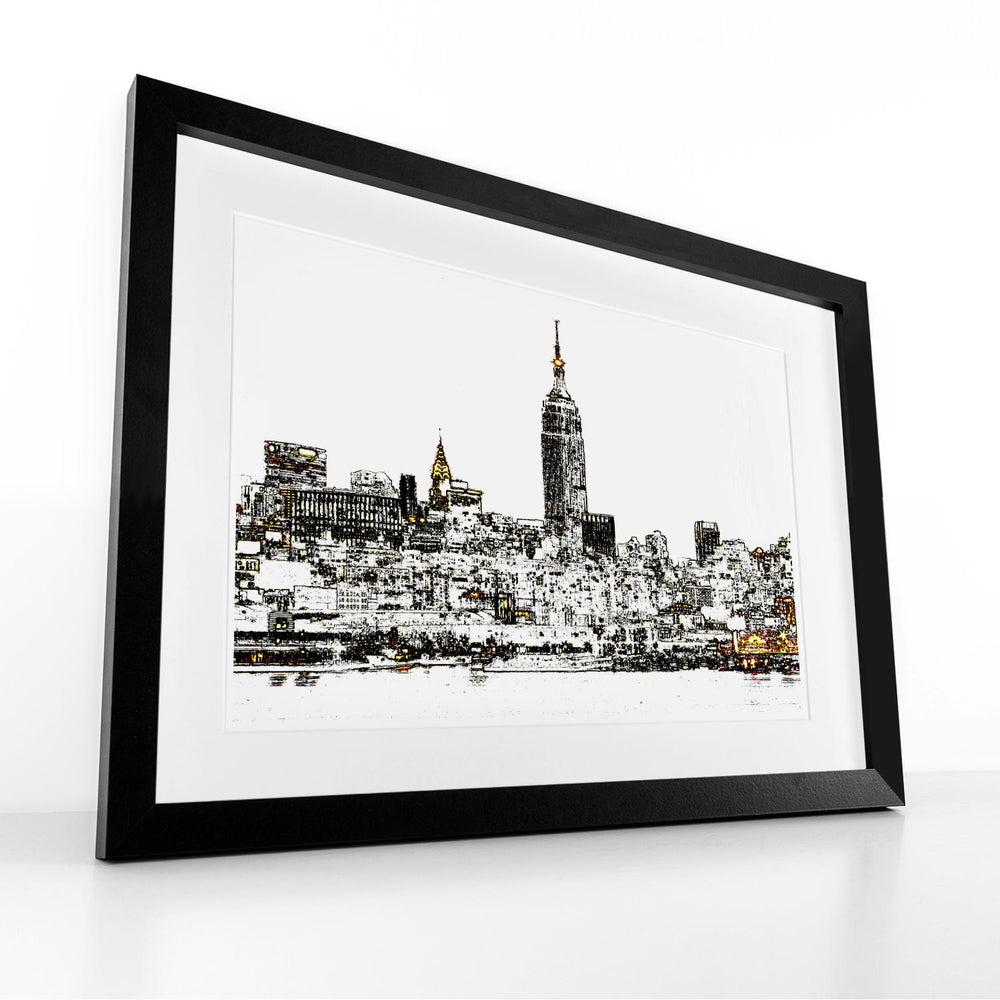 Target City - Framed Print by Hendrik