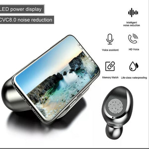 Wireless Bluetooth Earbuds and charging hub - FREE SHIPPING