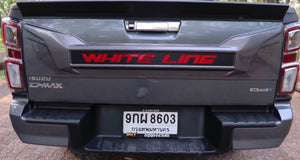 MY21 Isuzu D-max  Whiteline Tailgate protection cover