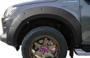 MY21 Isuzu D-Max   9 inch wall Off-road Design wheel Flare kit