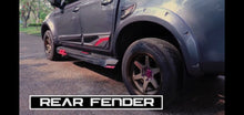 Load image into Gallery viewer, MY21 ISUZU D-MAX 9 INCH WALL OFF-ROAD DESIGN WHEEL FLARE KIT