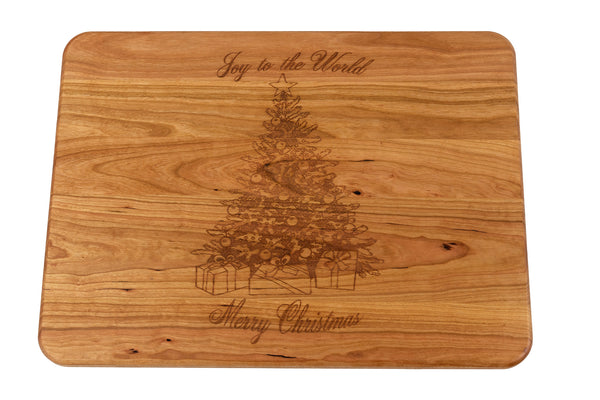 Joy to the World Christmas Cutting Board