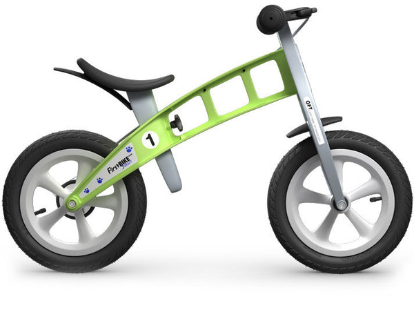 Run bike balance bike green FirstBIKE canada kids children