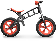 inflatable tire balance bike run bike orange canada FirstBIKE