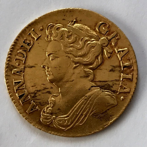 Picture of 1714 Queen Anne Gold Guinea