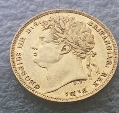 1821 King George IV Slabbed Gold Sovereign