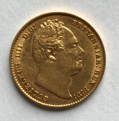 1832 King William IV gold sovereign