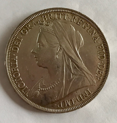 Picture of 1896 Queen Victoria Silver Crown