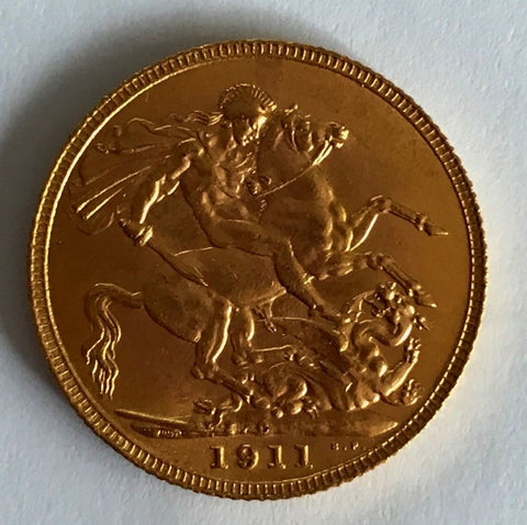 Picture of 1911 Canada Gold Sovereign