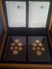 2008 Emblems of Britain and Shield of Arms Gold Proof Sets