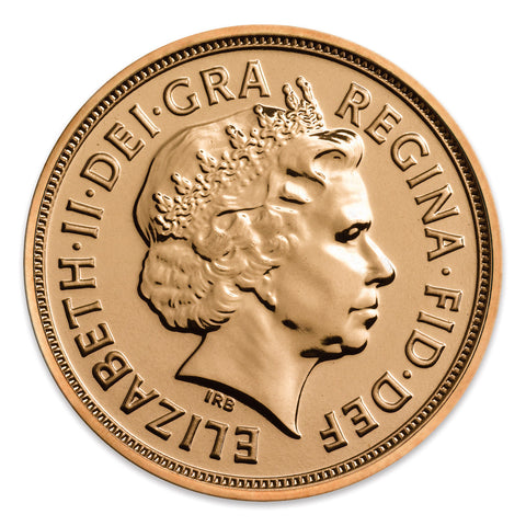 Picture of Elizabeth II 2013 Uncirculated Gold Sovereign