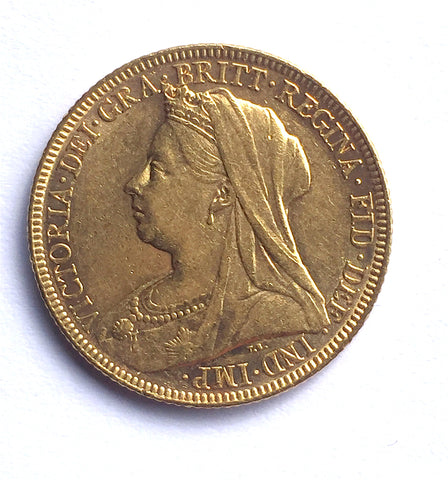 Picture of Victoria Widow Head 1897 (M Mint) Sovereign